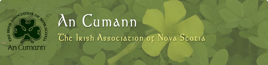 An Cumann – The Irish Association of Nova Scotia